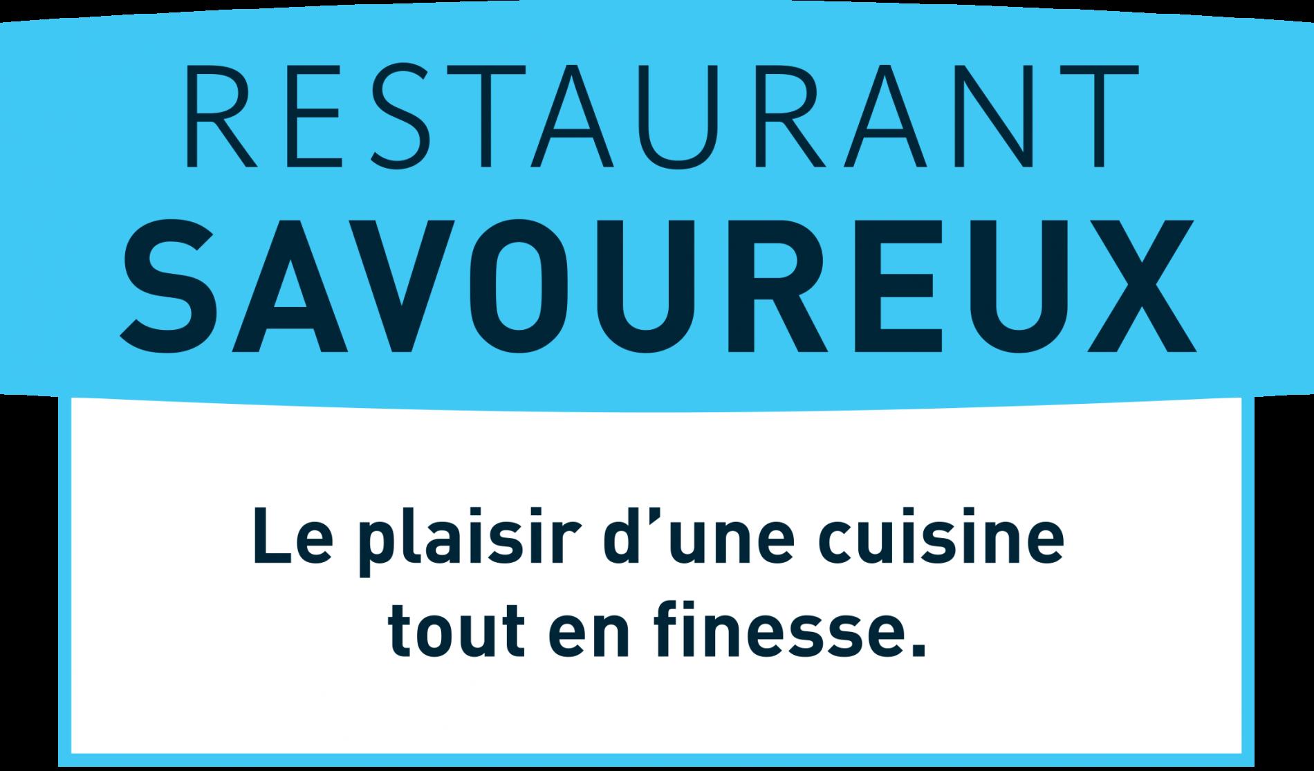 Logo restaurant savoureux le Lion d'Or, Chauvigny