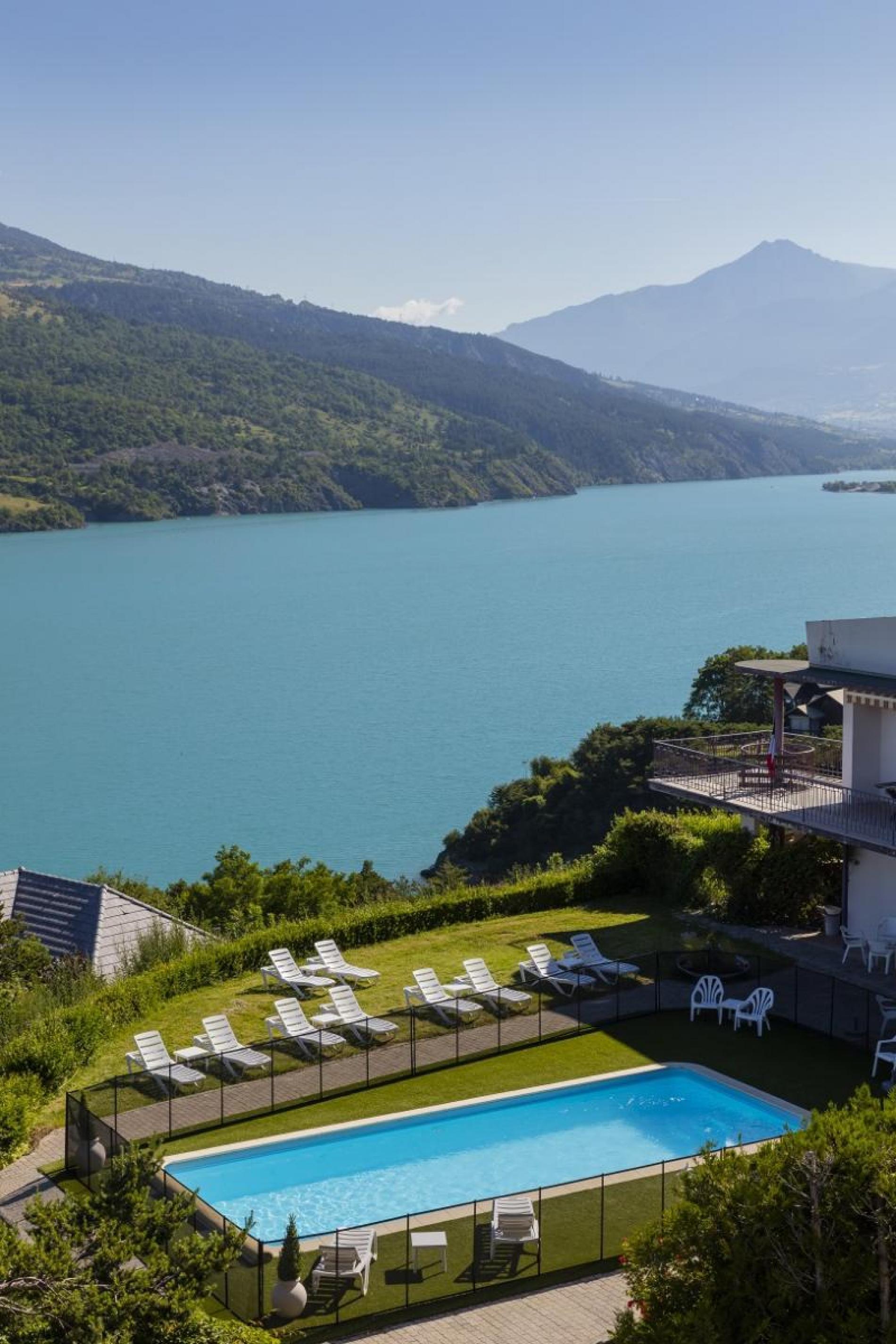 Hotel**Eden Lac Logis - Piscine
