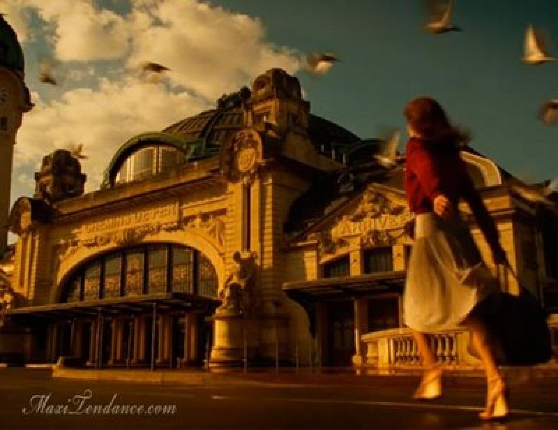La gare de Limoges-Bénédictins