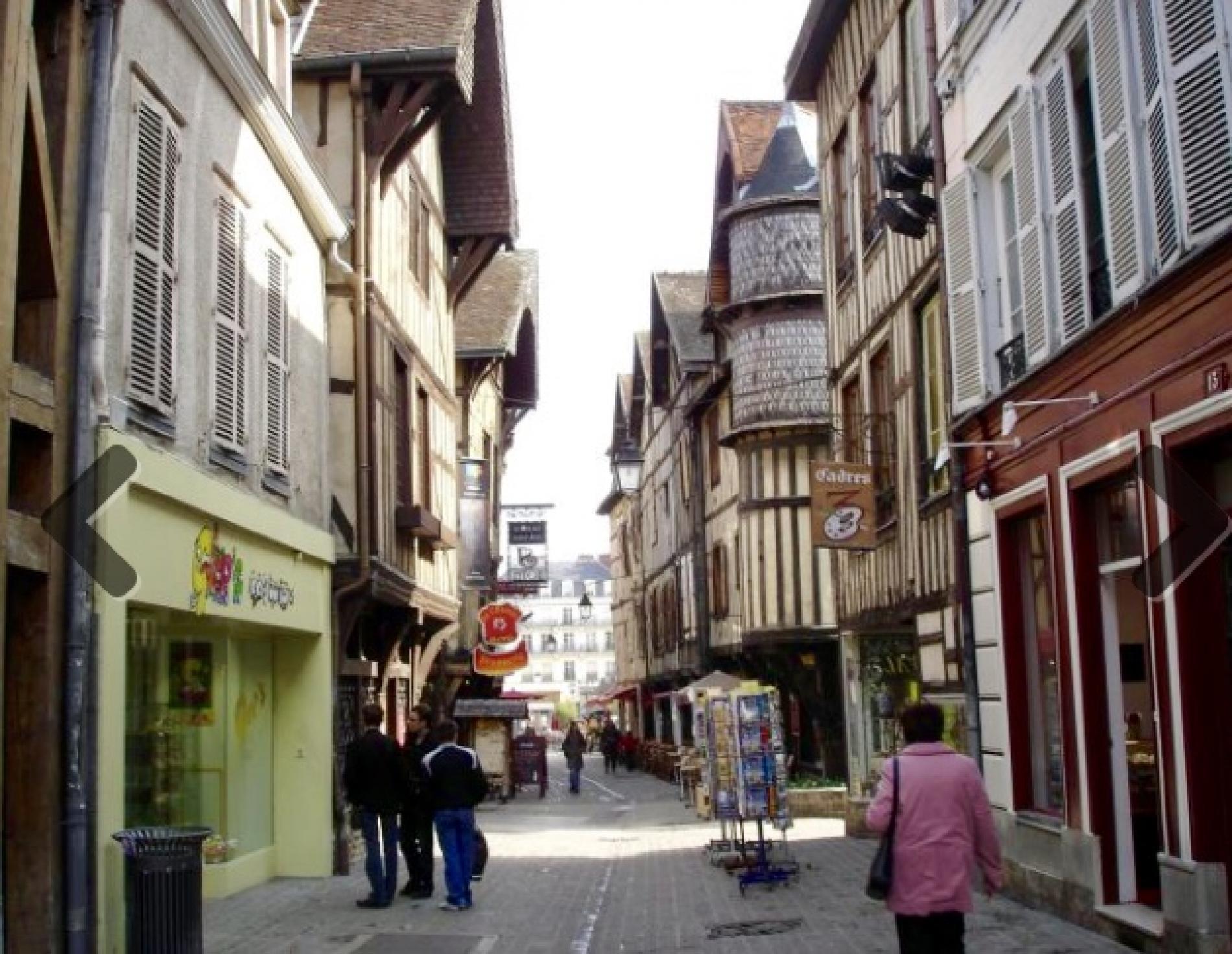 La ville historique de Troyes