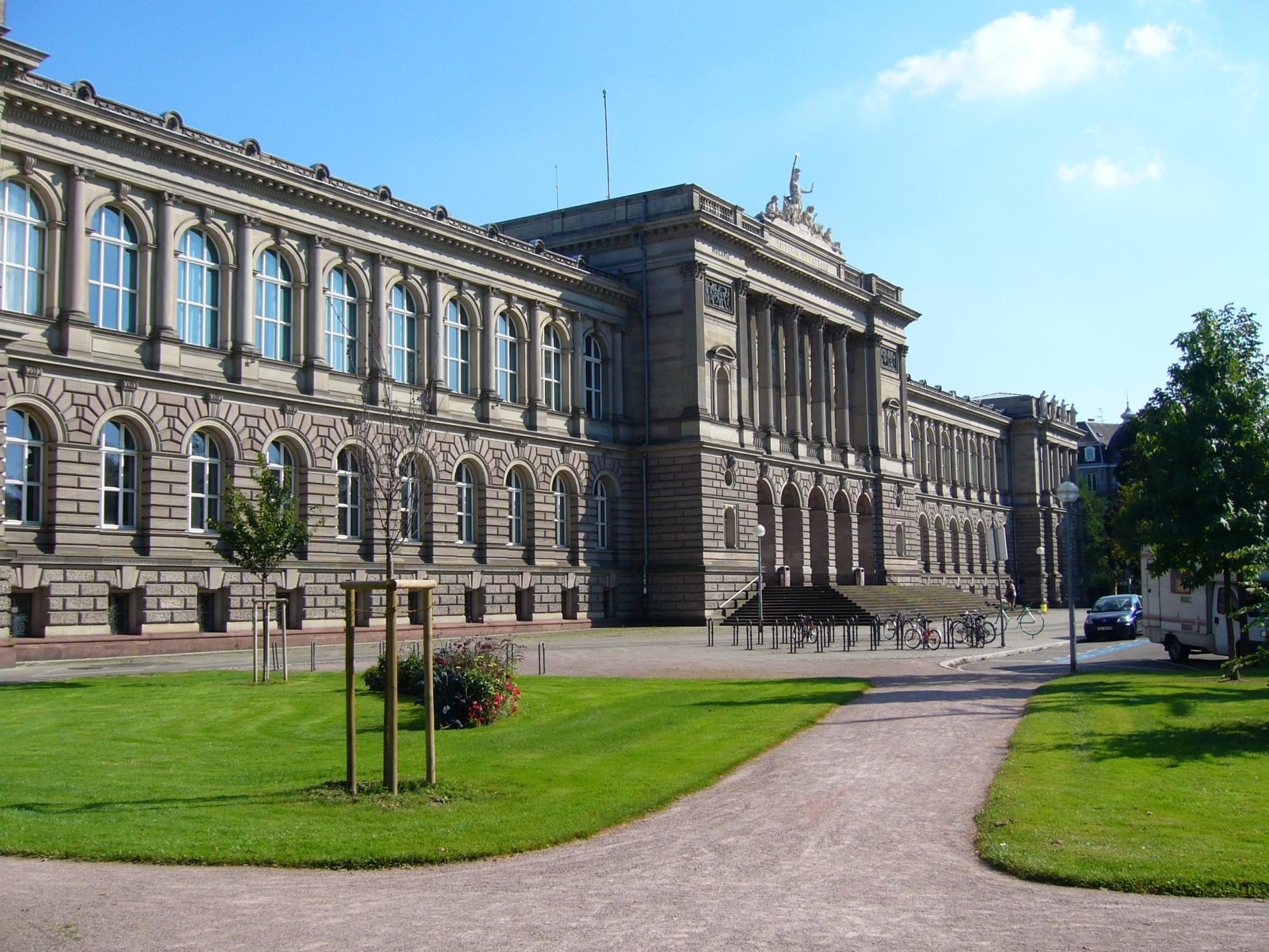 Le site de l'Universite de Strasbourg