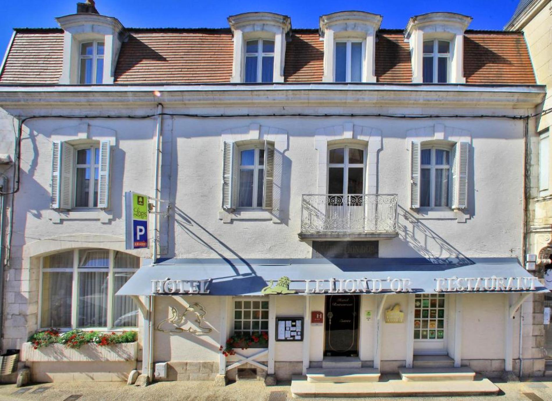 Logis hôtel à Chauvigny