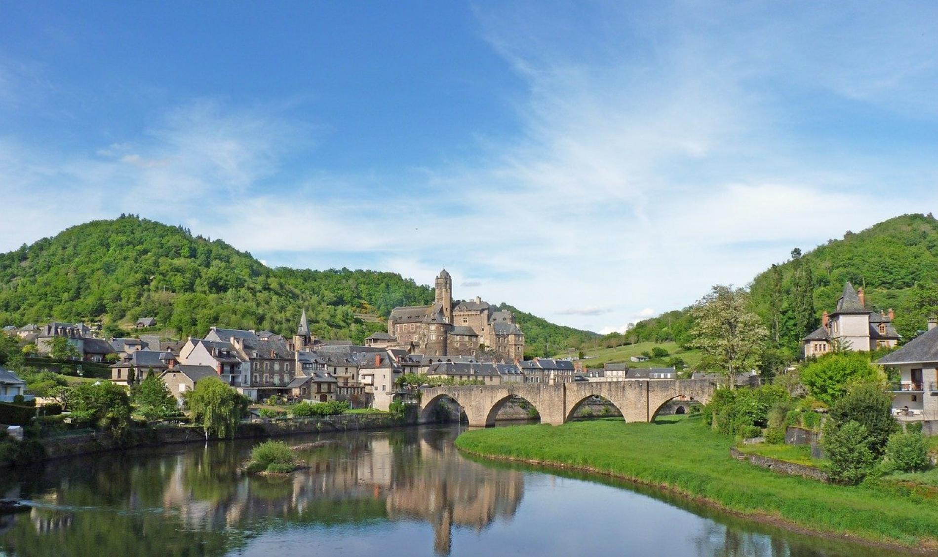 Estaing, vallée du Lot
