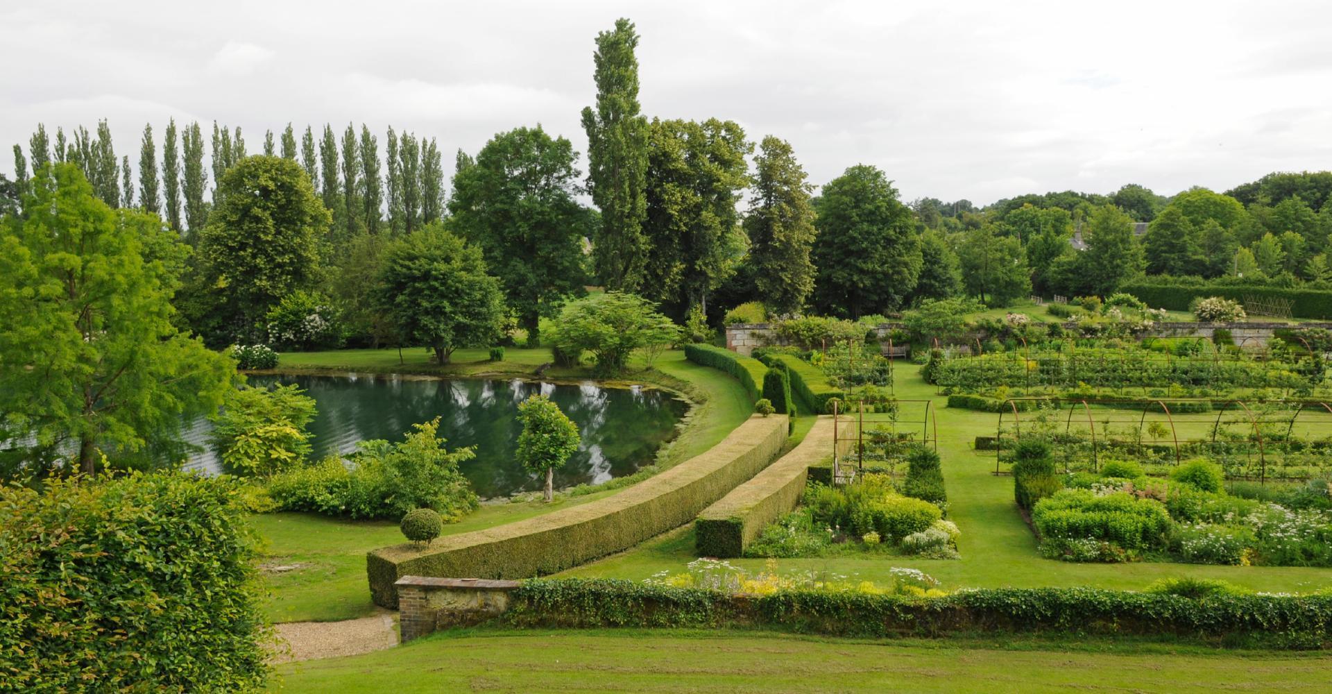 les jardins du château de Sasnières