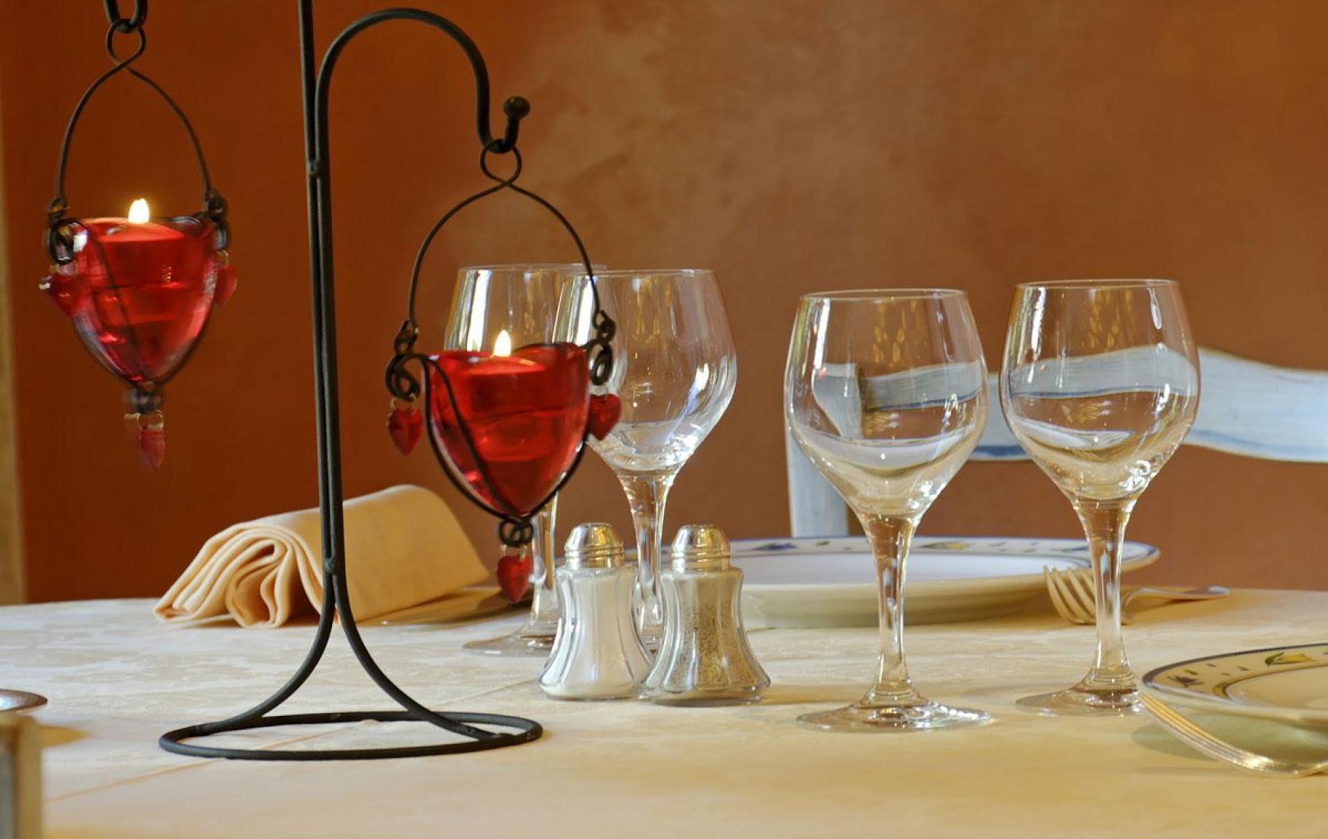 Le Restaurant - la mise de table
