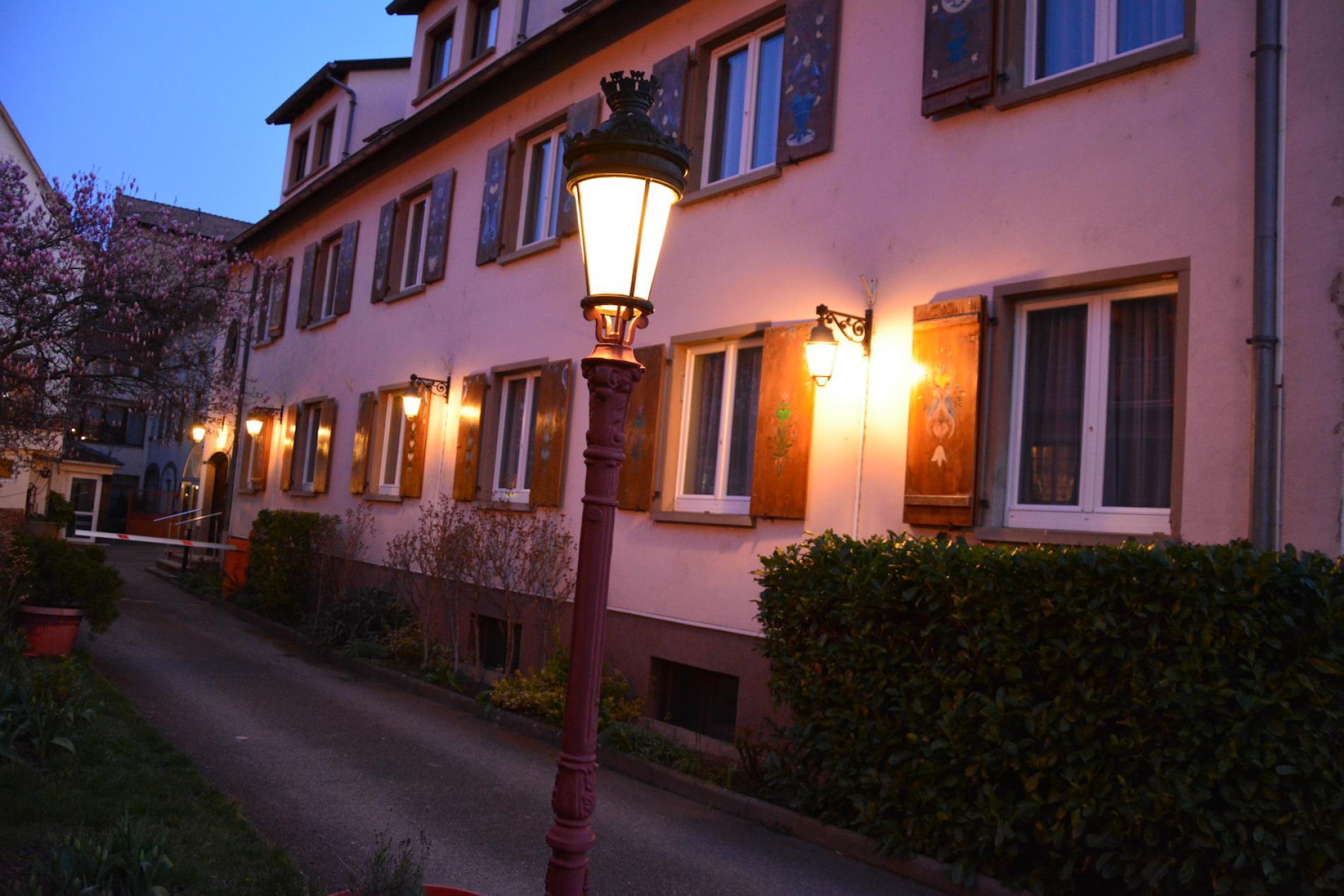 Hôtel*** à Molsheim sur la Route des Vins d'Alsace<br> Parking privé sous vidéosurveillance et garage à vélos fermé.