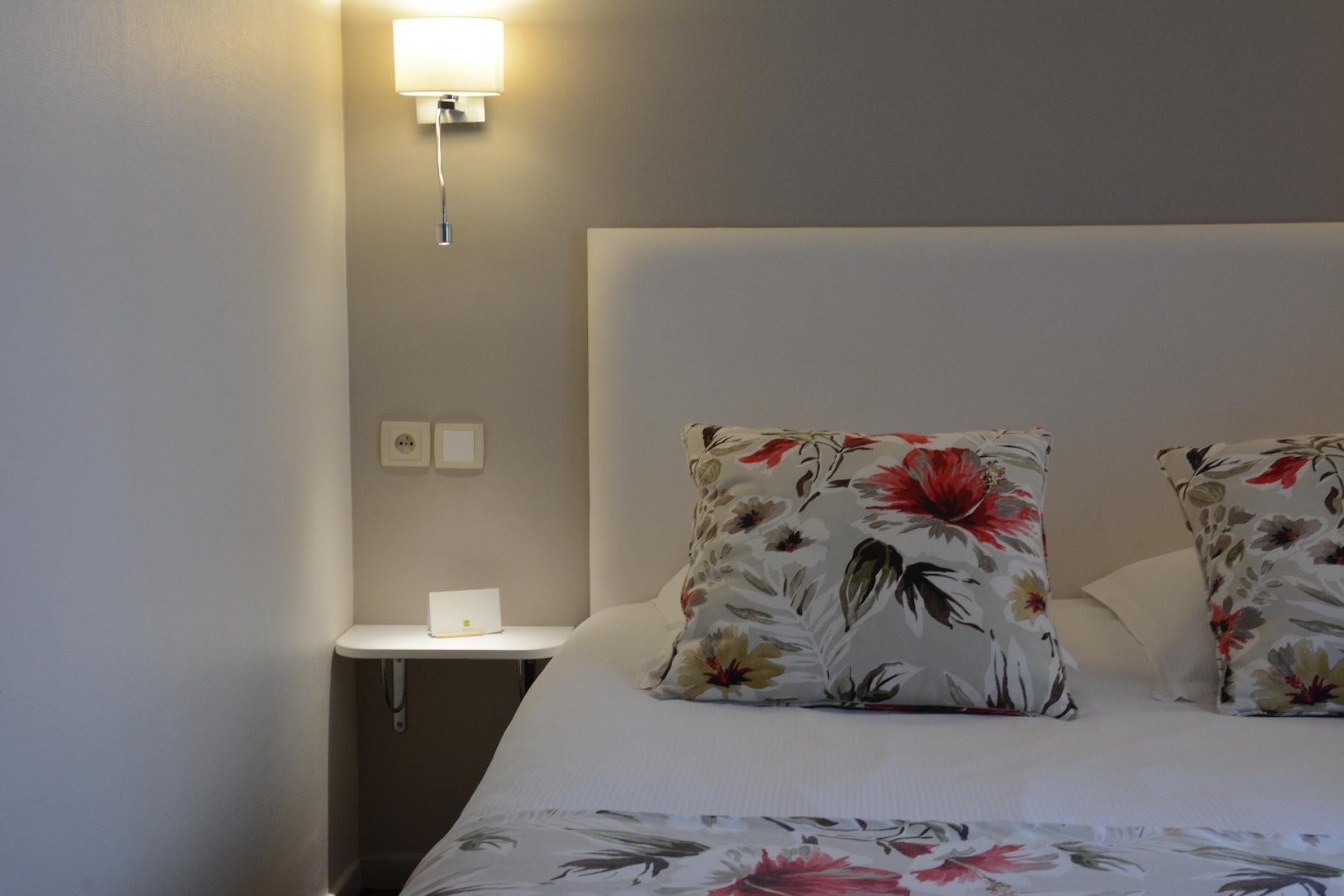 Logis Hôtel*** entre Strasbourg et Obernai<br> Chambre Double Standard