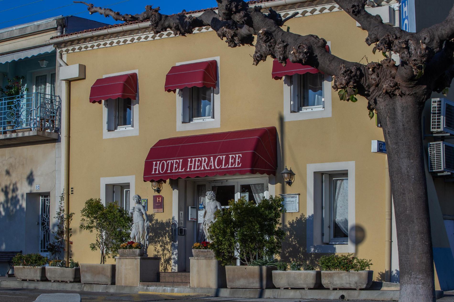 l'Hôtel Héraclée aux portes de la Camargue