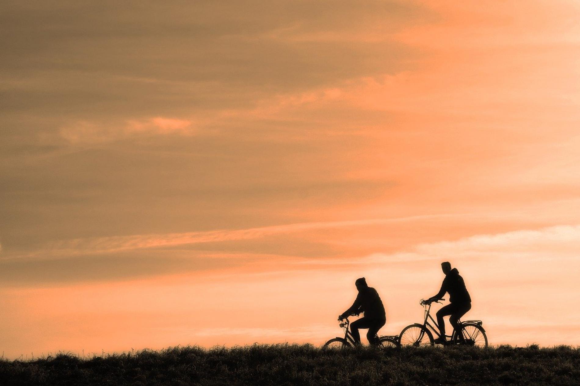 Les balades à vélo