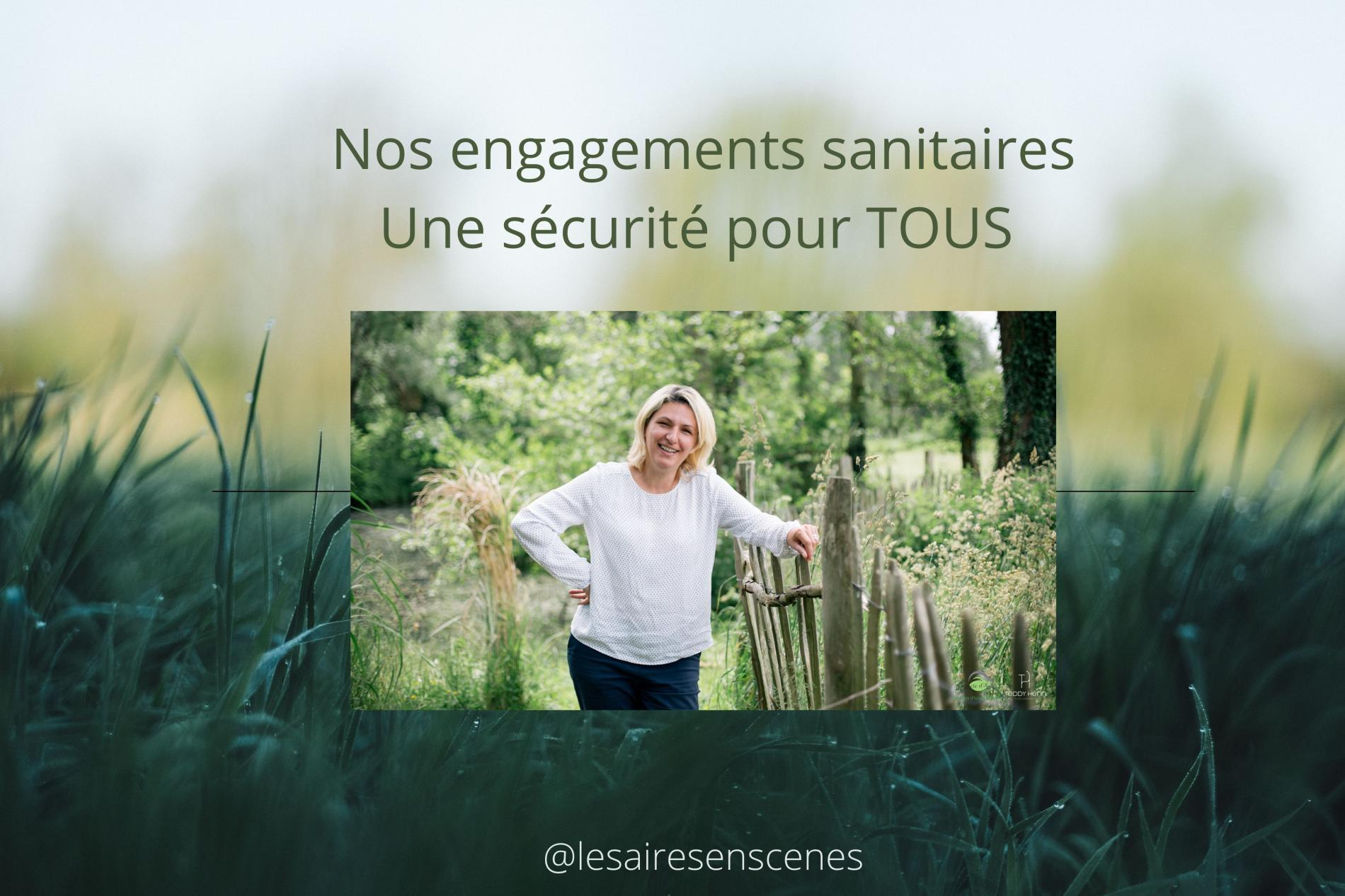 Nos engagements sanitaires