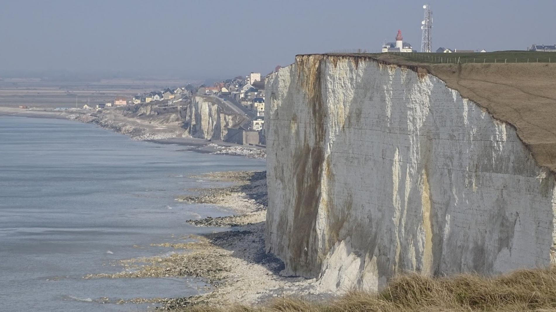 Ault and its cliffs