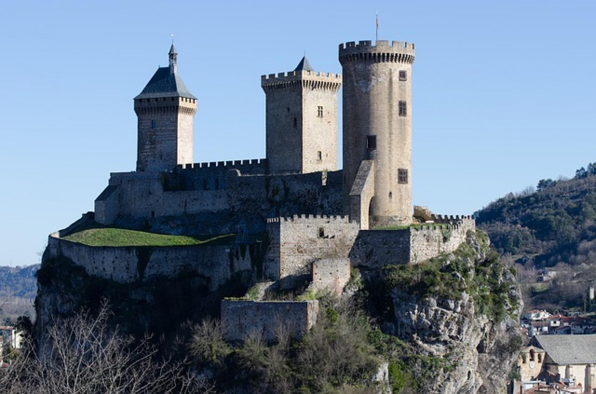 Château médiéval de Foix