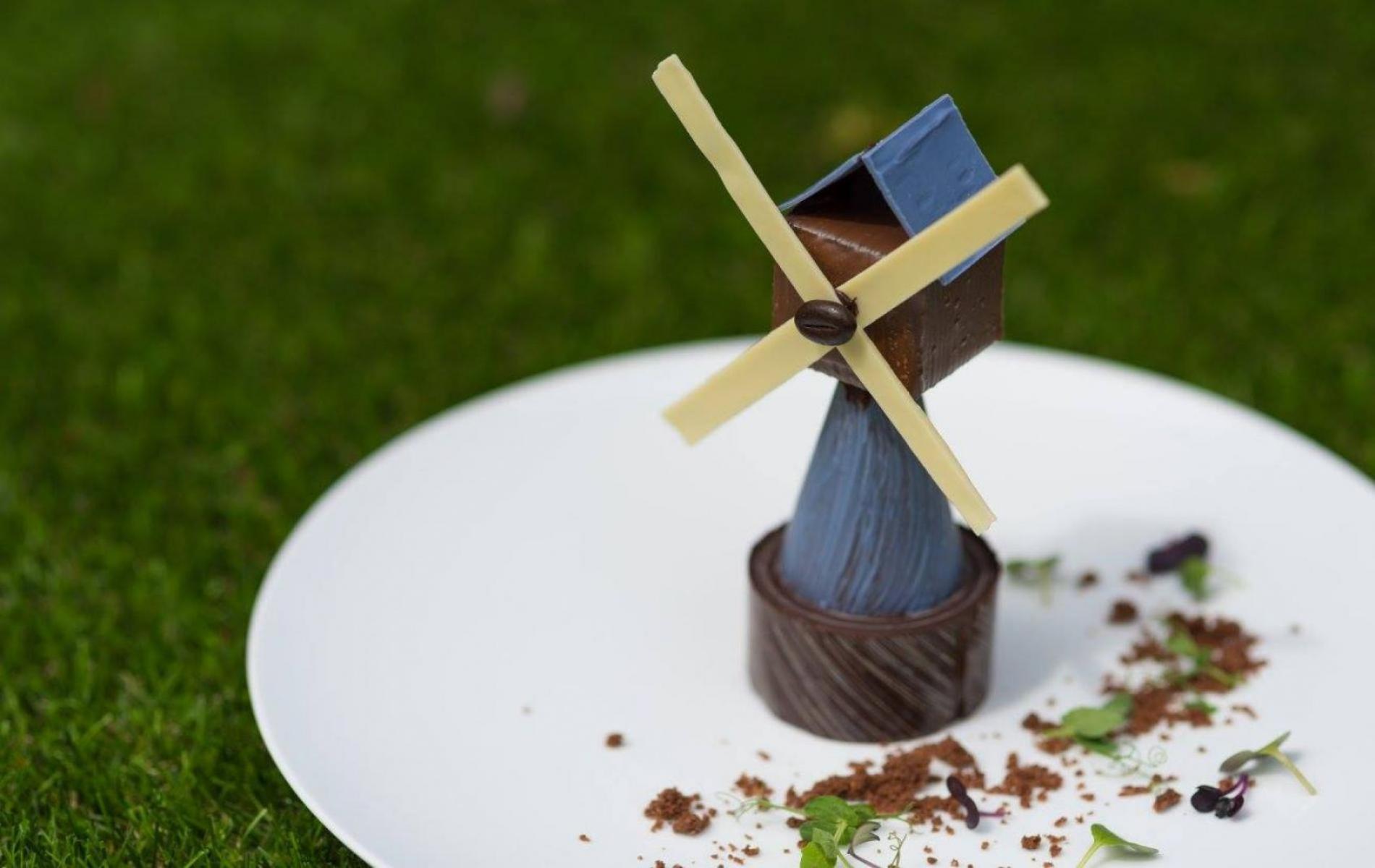 Le moulin en chocolat pour les enfants gourmands
