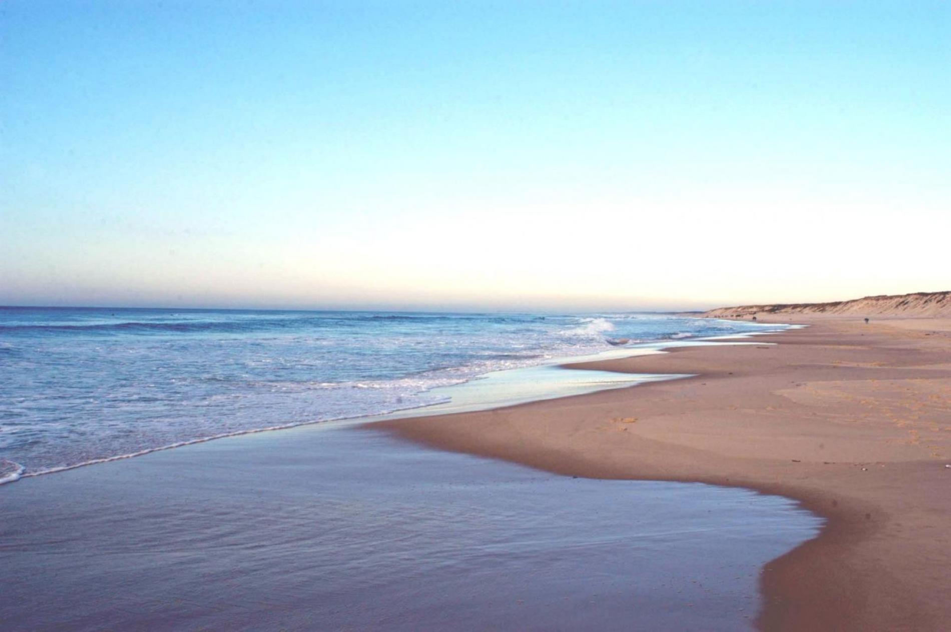 La plage de Biscarrosse