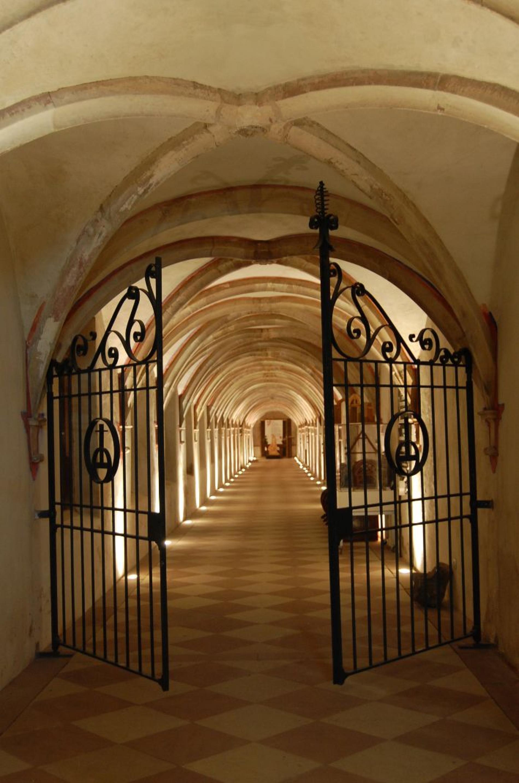 Cloître de la Chartreuse de Molsheim<br>