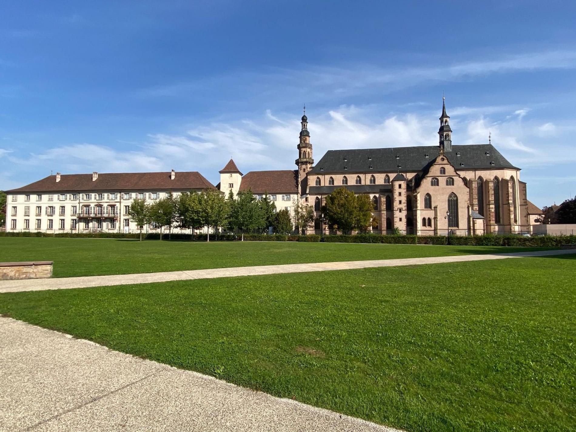 l'église des Jésuites de Molsheim<br>