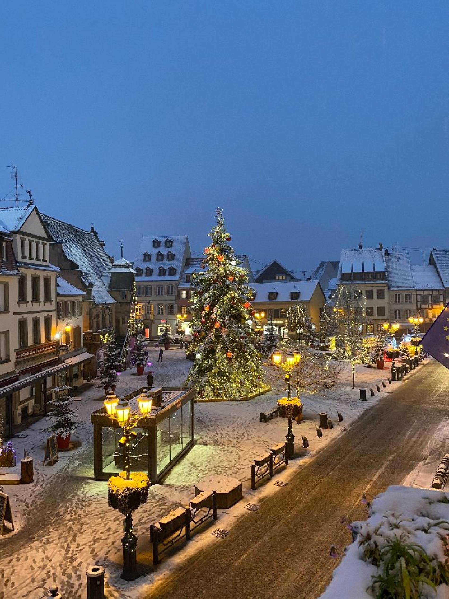 Place de la Mairie de Molsheim<br>