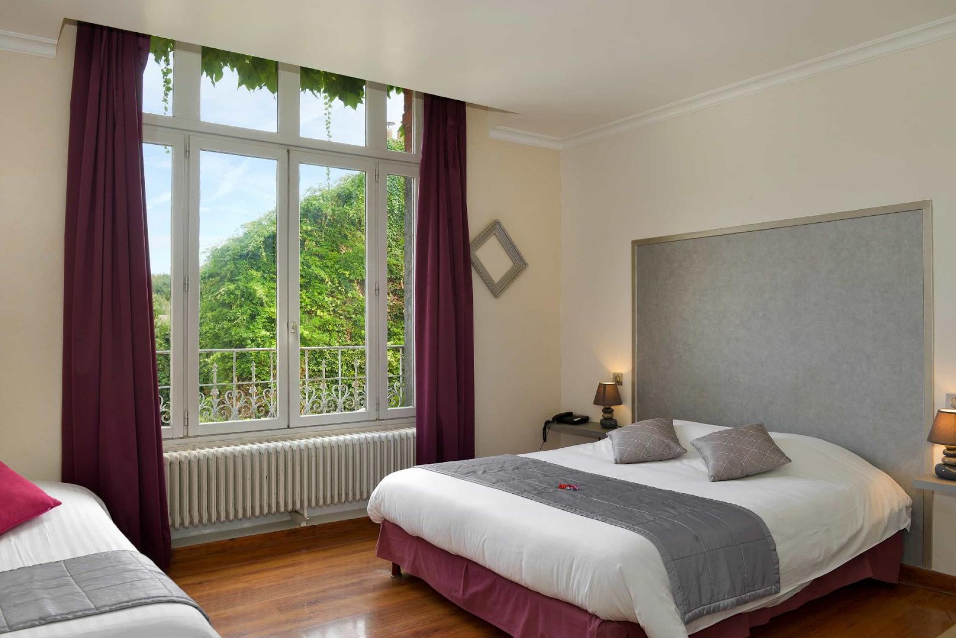 Hôtel familial  Situé à Malesherbes,  à 6 km du golf du  Château d'Augerville