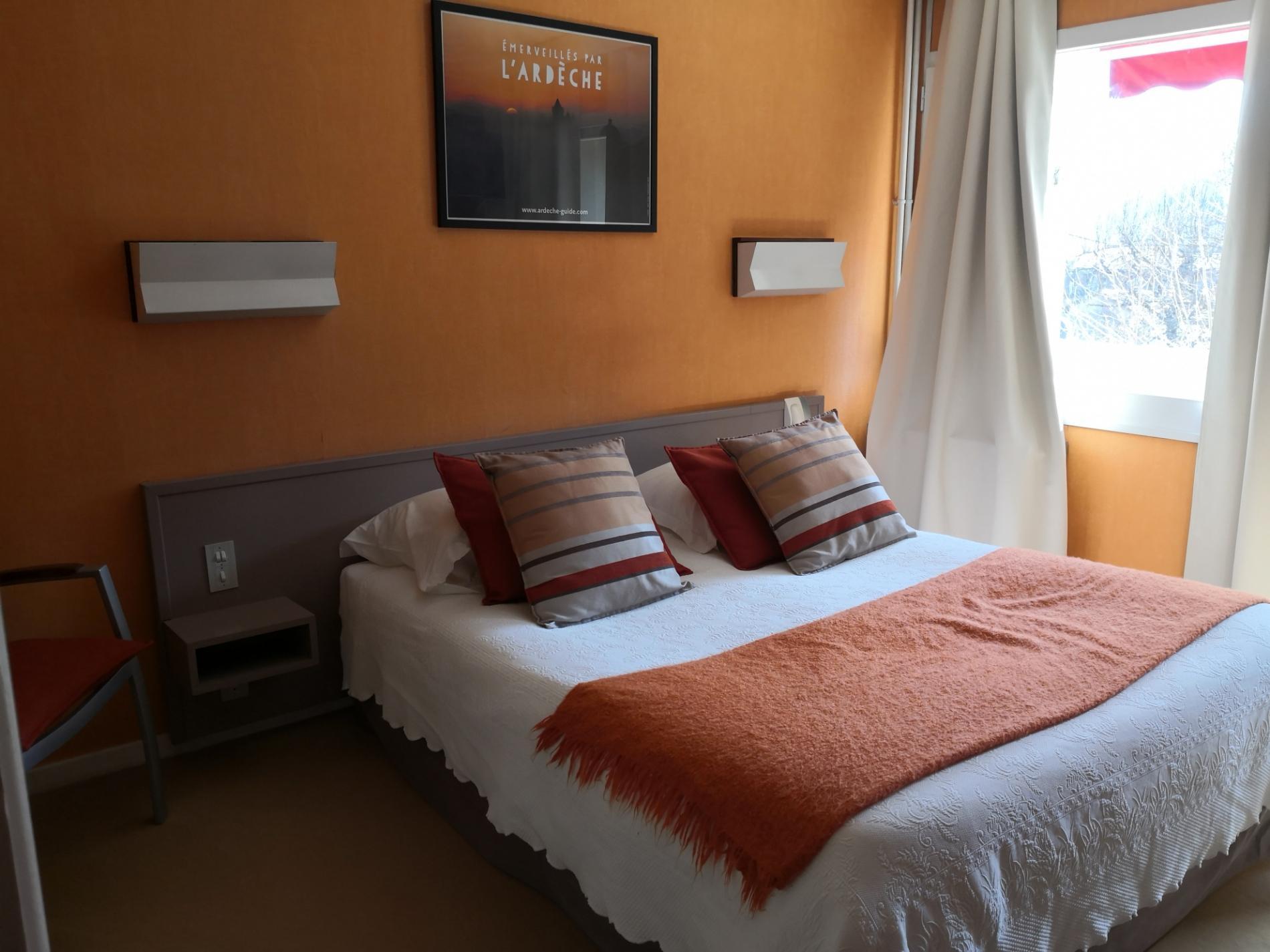 Chambres tout confort en Ardèche